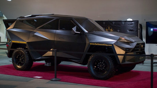The world's most expensive SUV will cost you $1.9M