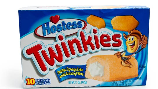 Walmart customers eating up Twinkies, Ding Dongs