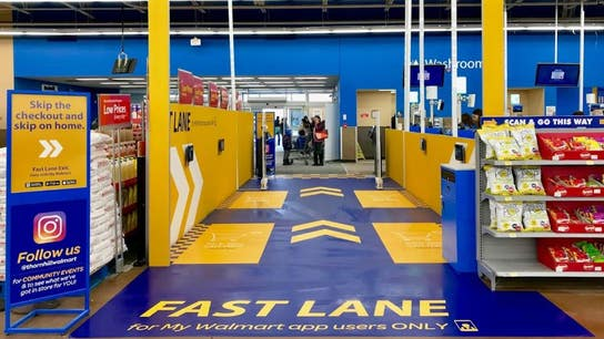 Walmart tests new 'fast lane' checkout system to give shoppers a speedy exit