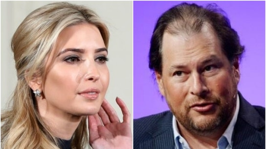 Ivanka Trump praises Salesforce CEO Marc Benioff for being a 'trailblazer' on Twitter