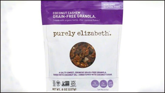 Purely Elizabeth issues recall on some granola for 'possible foreign matter contamination,' officials say