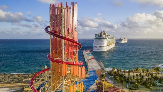 Royal Caribbean open its $250M 'Perfect Day' private island, featuring tallest waterslide in North America