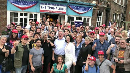 Patriotic London pub renamed 'The Trump Arms' to honor president