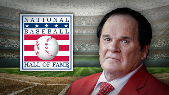 MLB legend Pete Rose: I'm totally over the Hall of Fame