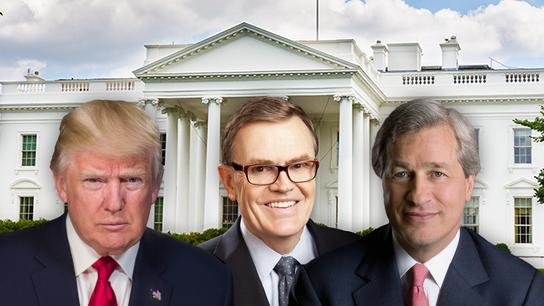 JPMorgan's Dimon, UPS' Abney lead Trump's CEO meeting on trade