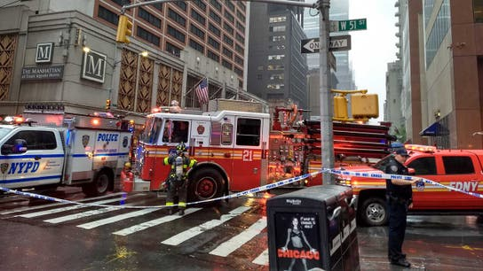 WATCH: Helicopter pilot dead after chopper crash into New York City skyscraper