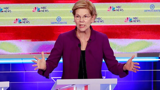 Elizabeth Warren pushes economic reform efforts in Democratic debate