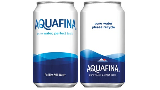 PepsiCo's Aquafina water to be sold in aluminum cans