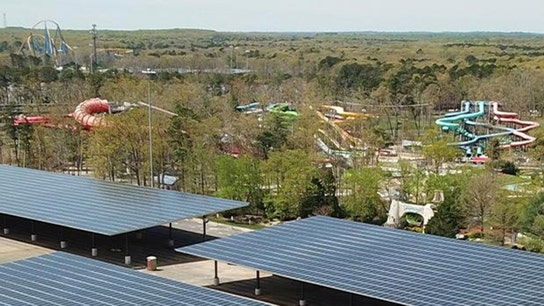 Six Flags Great Adventure says park is 'almost fully-powered by solar energy'