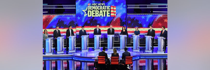 Trump slams Democratic candidates at debate for supporting health care for illegal immigrants