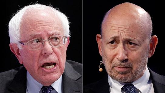 Bernie Sanders, ex-Goldman Sachs CEO Lloyd Blankfein feud on Twitter