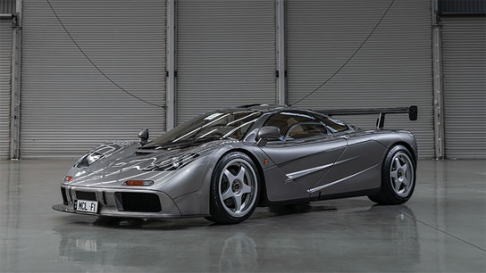 A rare British McLaren racing car set to fetch a record $23M