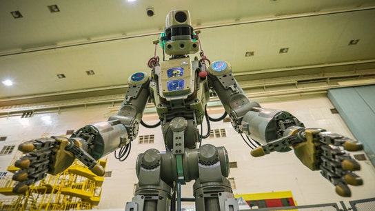 Robot launched into space to help with ISS operations