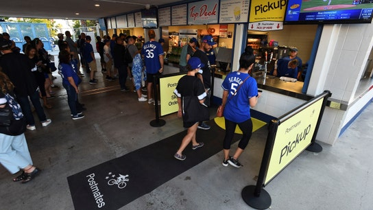 Dodger Stadium's Postmates deal lets fans order from seats, skip lines