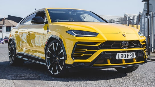 Lamborghini Urus SUVs are a hit with drivers