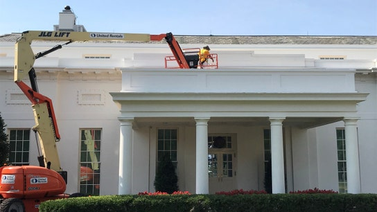 White House's new paint job: Color, cost and other fun facts