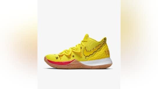 Nike collaborates with Nickelodeon, Kyrie Irving on SpongeBob SquarePants sneakers