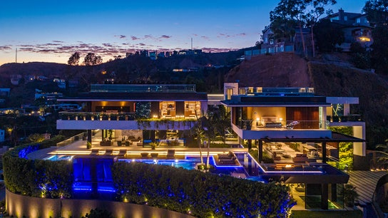 'The views are amazing': Inside this $43.9M Hollywood Hills home