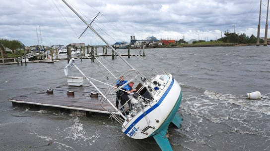 Dorian moves offshore as Outer Banks assess damage in North Carolina