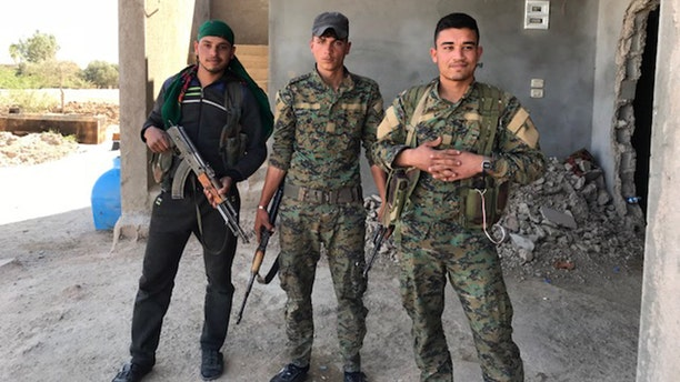 Forces for the Kurdish-led Syrian Defense Forces hope the U.S. stays in the fight against ISIS.