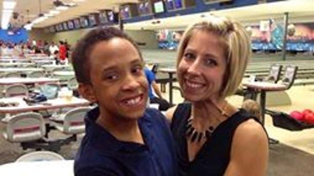 Elijah and his mother, Rachel.