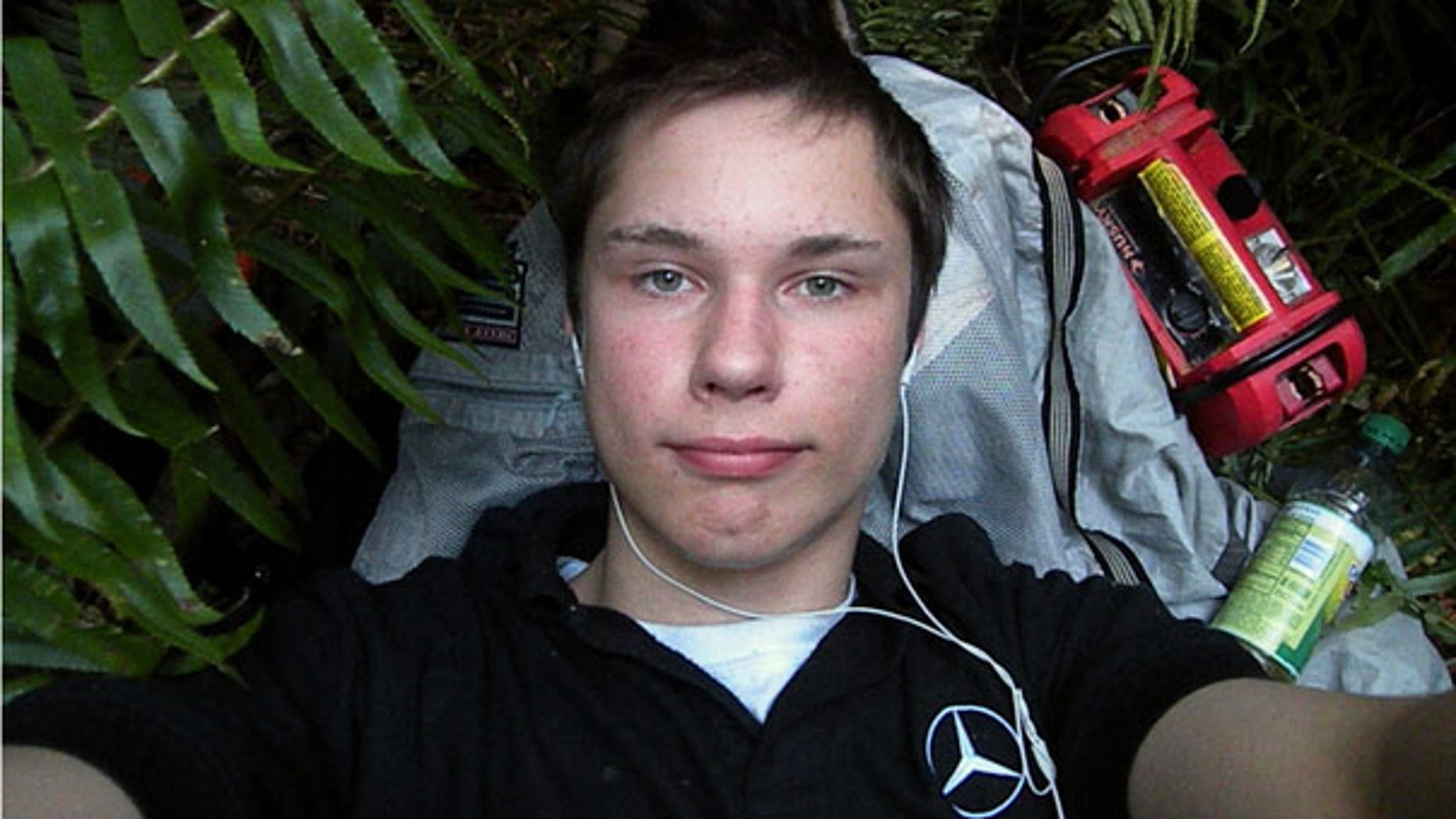 FILE: Colton Harris-Moore, the so-called 'Barefoot Bandit,' is seen in a July 2009 photo.