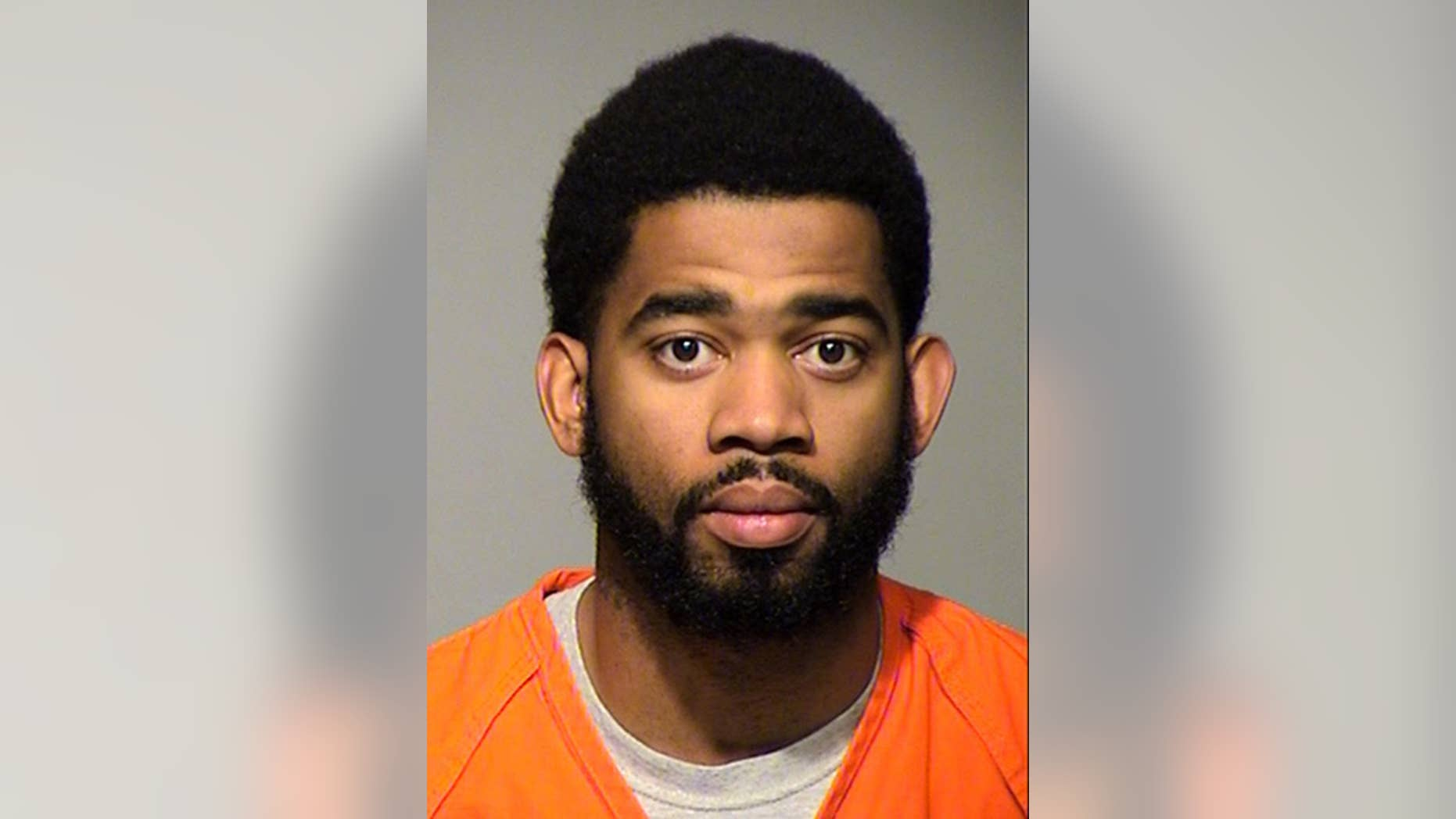 This photo provided by the Milwaukee County Sheriff's Office shows Milwaukee police officer Dominique Heaggan-Brown. Heaggan-Brown, who sparked several nights of protest after fatally shooting a black man in August, was arrested Wednesday, Oct. 19, 2016, and charged with five counts of sexual misconduct in a separate case stemming from an alleged attack two days after the shooting. (Milwaukee County Sheriff's Office via AP)