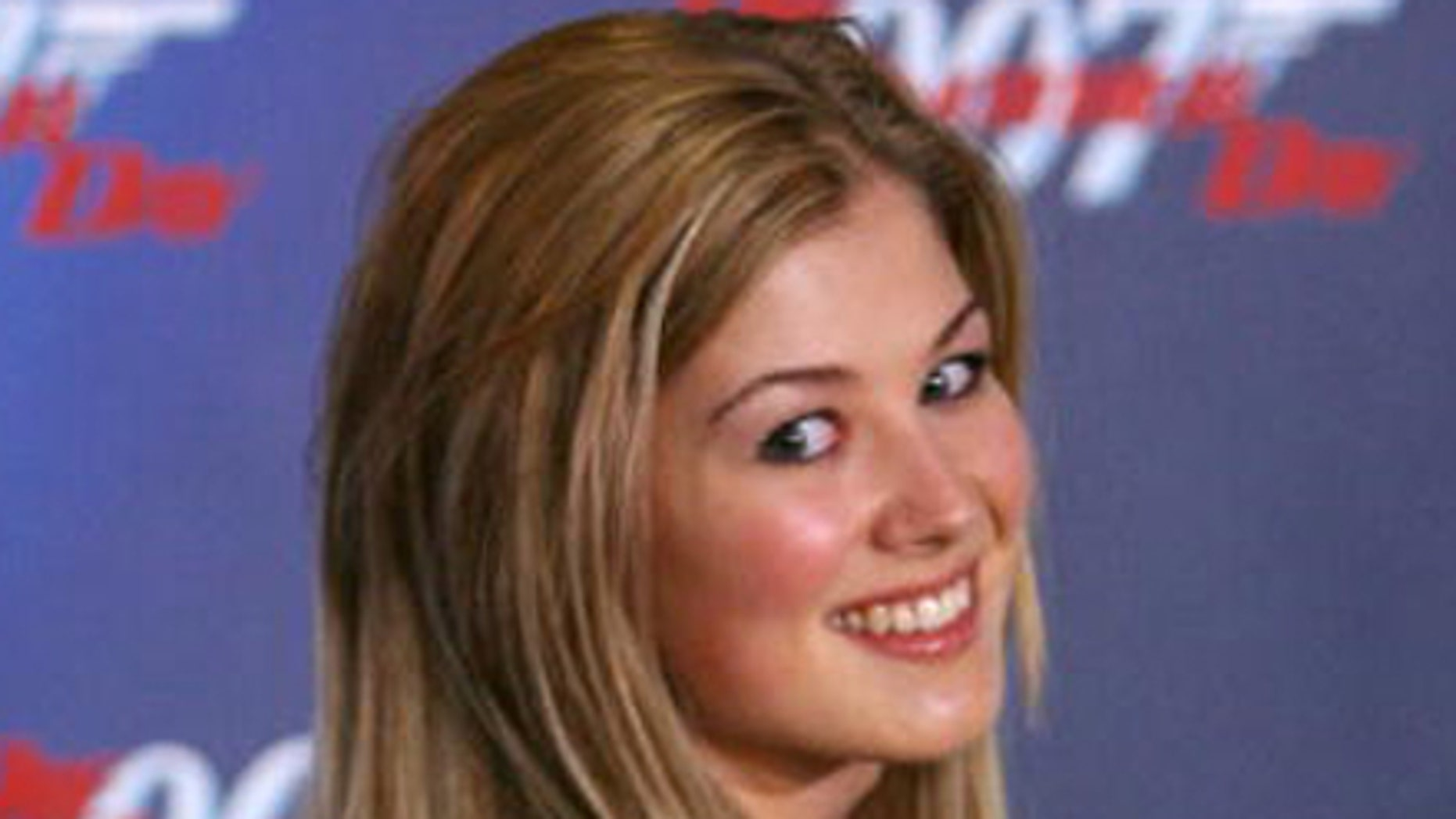 """Rosamund Pike reveals that she was asked to strip down during her audition for the 2002 James Blond flick, """"Die Another Day."""""""