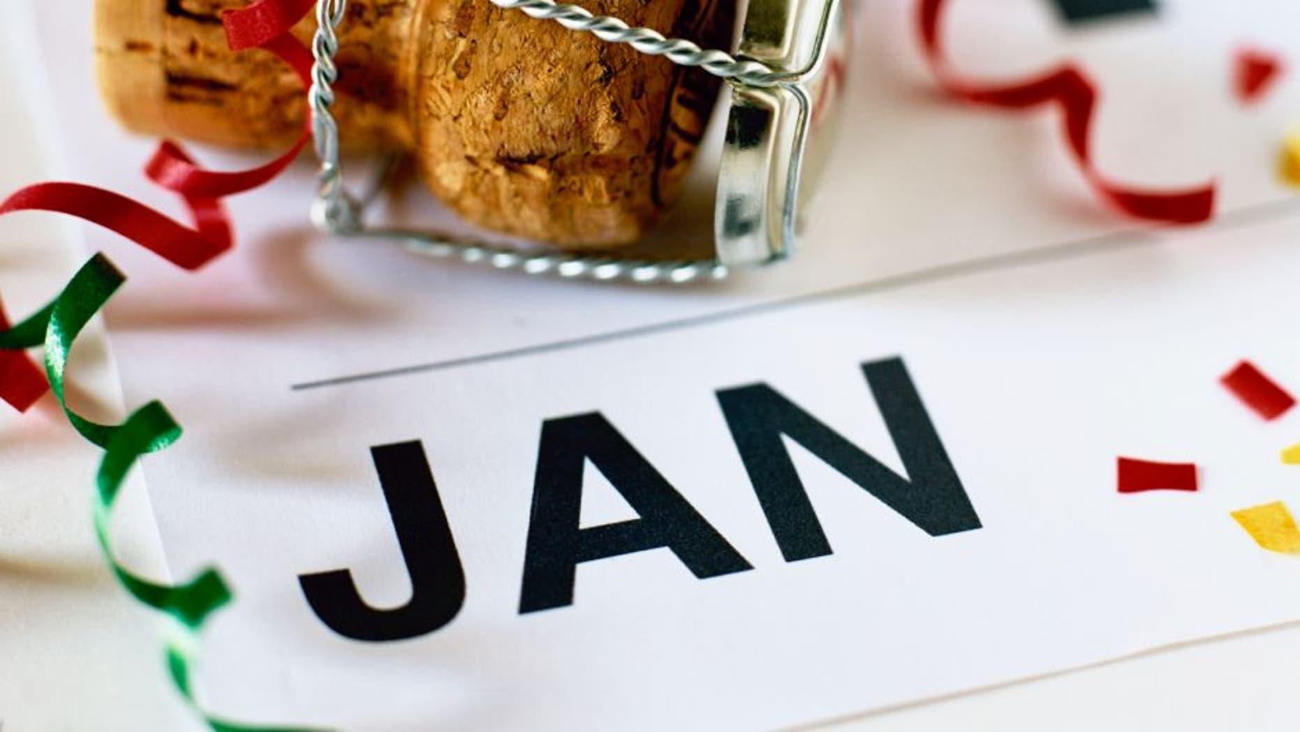 Cork and calendar