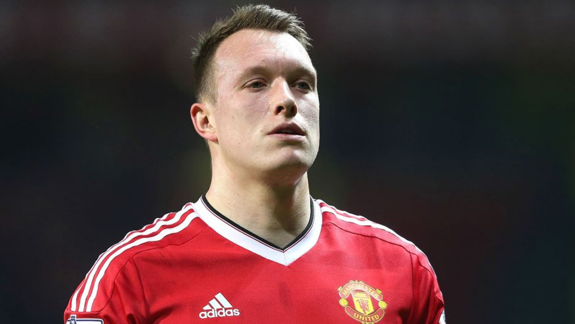 MANCHESTER, ENGLAND - DECEMBER 28: Phil Jones of Manchester United walks off after the Barclays Premier League match between Manchester United and Chelsea at Old Trafford on December 28, 2015 in Manchester, England. (Photo by Tom Purslow/Man Utd via Getty Images)