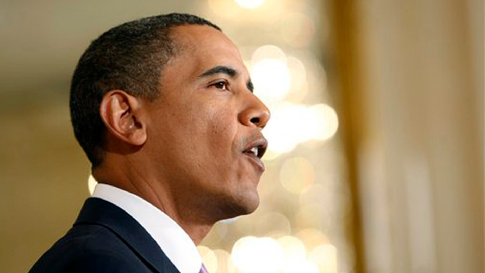 President Obama speaks about the economy, Friday, Jan. 8, 2010, in the East Room of the White House in Washington. (AP)
