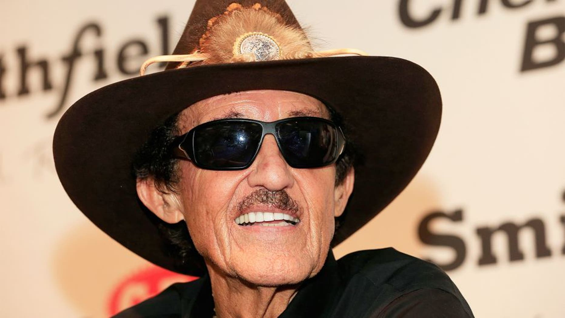 HOMESTEAD, FL - NOVEMBER 20: Team owner Richard Petty speaks during a news conference at Homestead-Miami Speedway on November 20, 2015 in Homestead, Florida. (Photo by Chris Trotman/NASCAR via Getty Images)