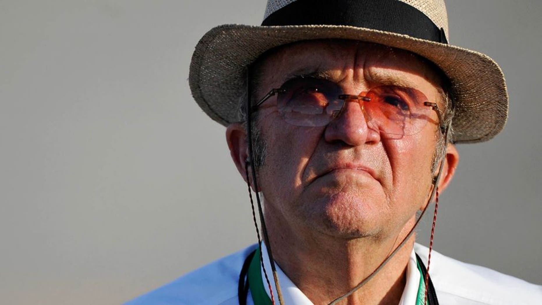 RICHMOND, VA - SEPTEMBER 06: Team owner Jack Roush looks on from the grid during qualifying for the NASCAR Sprint Cup Series Federated Auto Parts 400 at Richmond International Raceway on September 6, 2013 in Richmond, Virginia. (Photo by Rainier Ehrhardt/NASCAR via Getty Images)