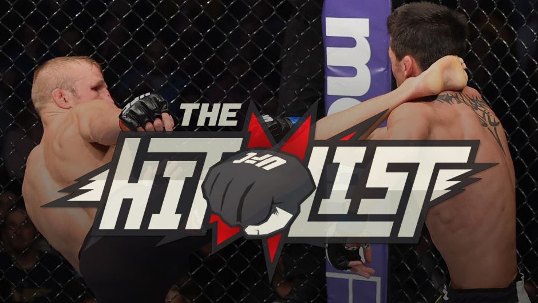 BOSTON, MA - JANUARY 17: (L-R) TJ Dillashaw kicks Dominick Cruz in their UFC bantamweight championship bout during the UFC Fight Night event inside TD Garden on January 17, 2016 in Boston, Massachusetts. (Photo by Jeff Bottari/Zuffa LLC/Zuffa LLC via Getty Images)