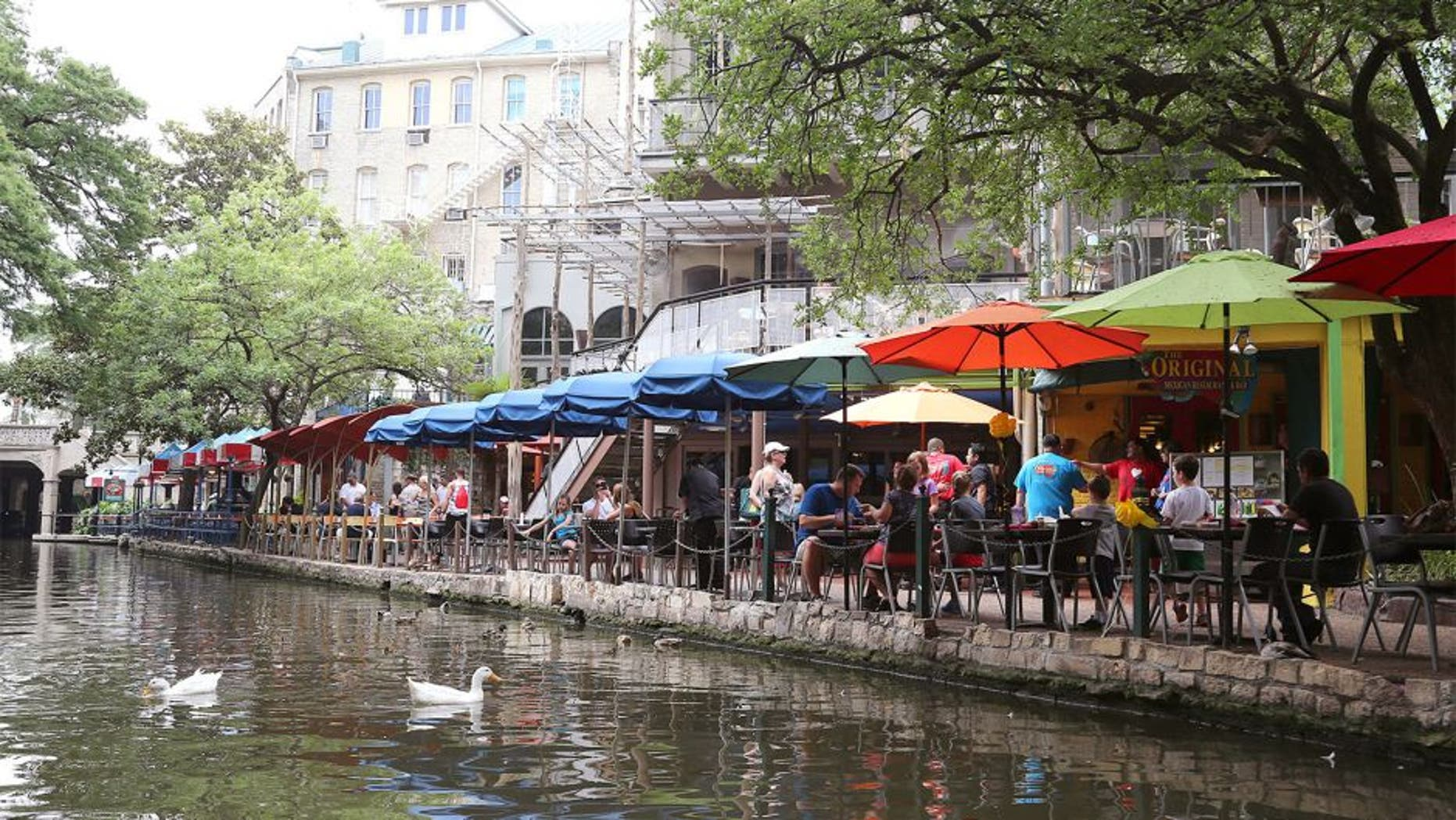 Jun 6, 2014; San Antonio, TX, USA; A general view of the River Walk in downtown San Antonio during the week the city host the 2014 NBA Finals . Mandatory Credit: Matthew Emmons-USA TODAY Sports