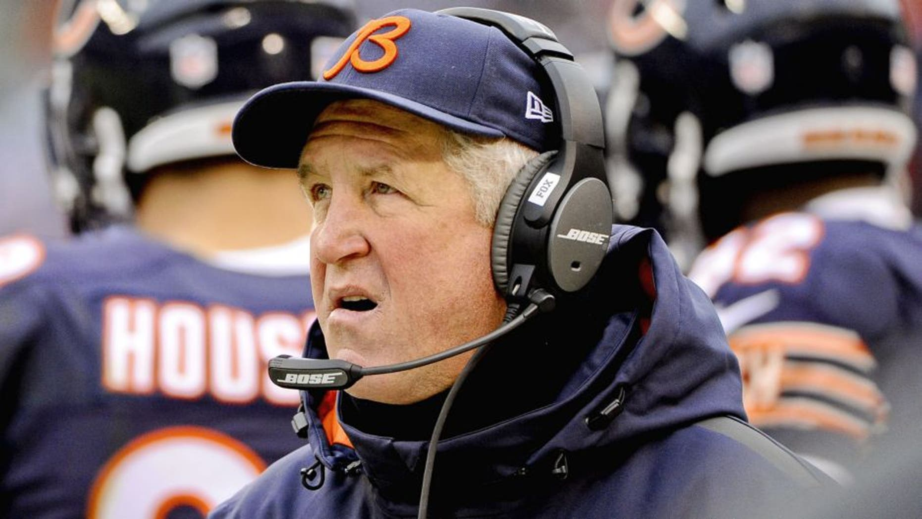 John Fox has the second-lowest winning percentage all-time among Chicago Bears head coaches.