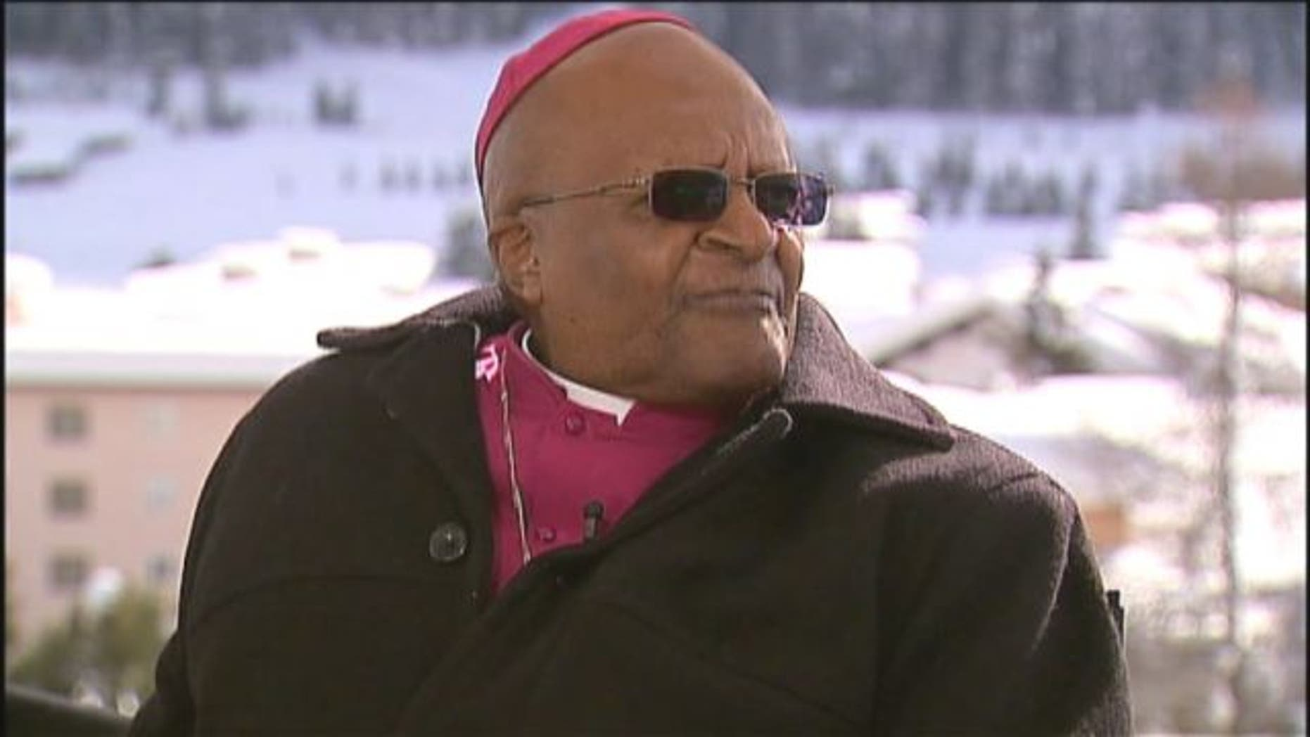 FILE: Former South African Anglican Bishop Desmond Tutu