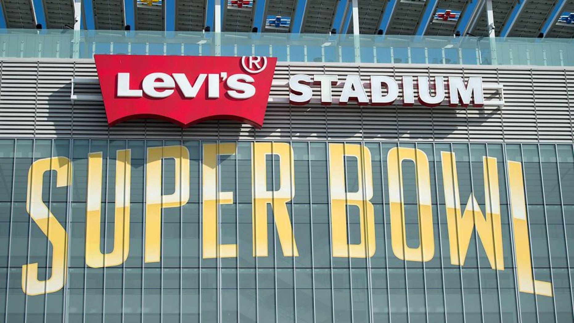 January 26, 2016; Santa Clara, CA, USA; General view of the exterior of Levi's Stadium prior to Super Bowl 50. Mandatory Credit: Kyle Terada-USA TODAY Sports