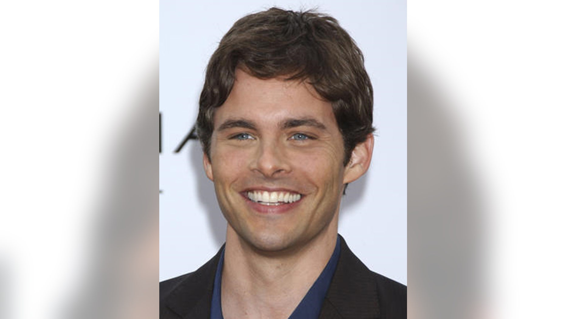 James Marsden is the male Angelina, with the most desired lips in Hollywood. Brad Pitt and Wentworth Miller came in as runners up in this category.