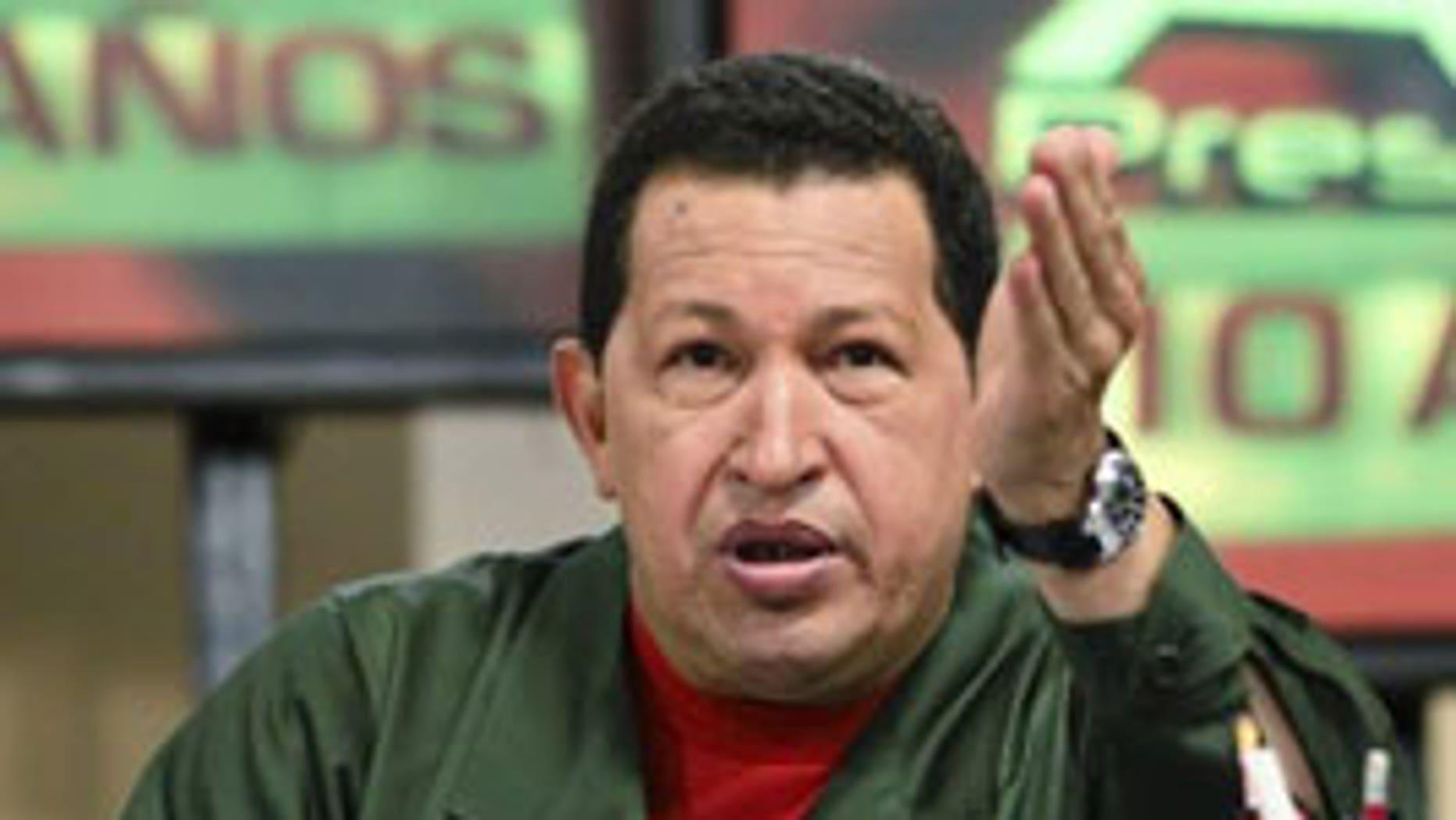 Venezuelan President Hugo Chavez is tightening his grip on the country's media.