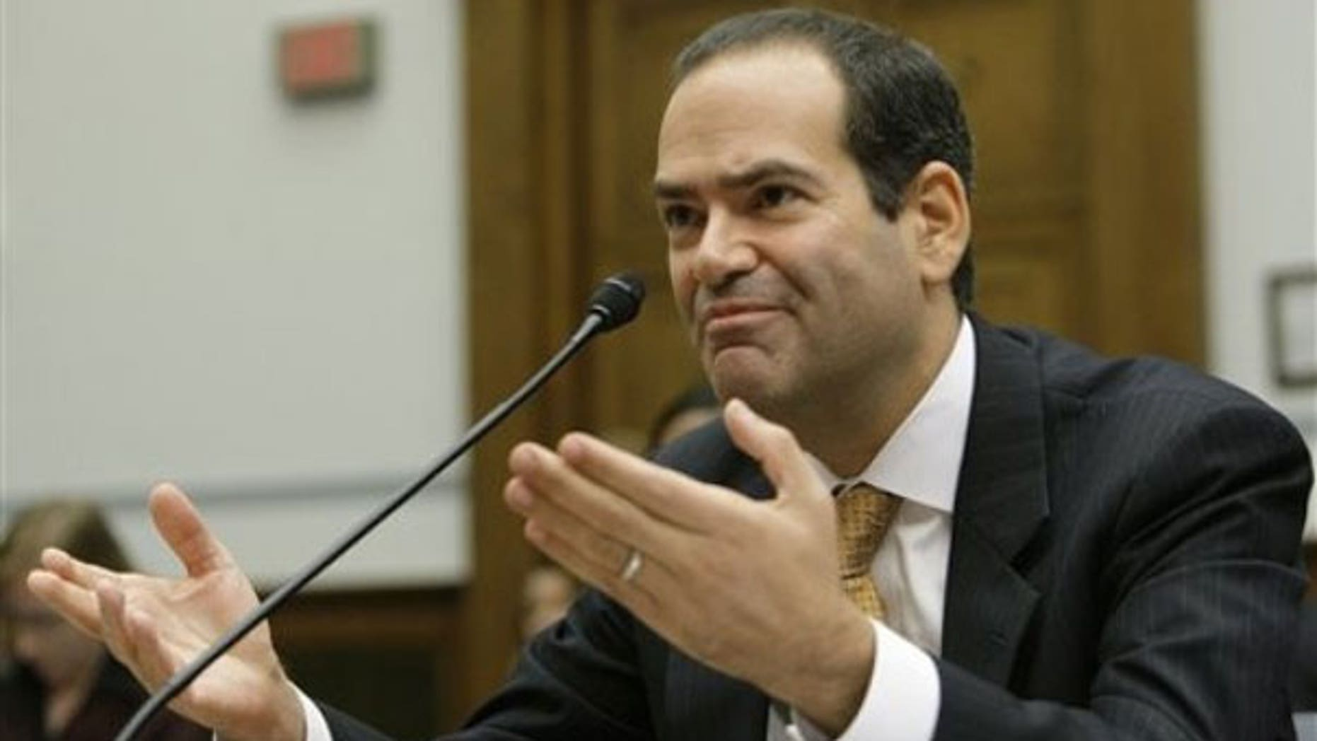 FILE: Neil Barofsky, special inspector general for the Trouble Asset Relief Program (TARP) (AP).
