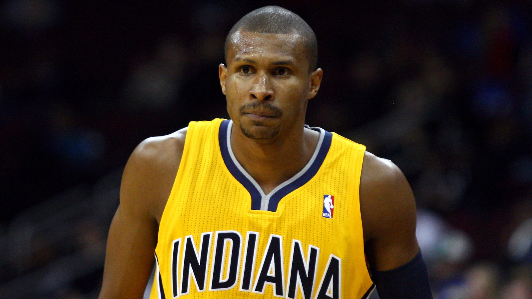 Leandro Barbosa #28 of the Indiana Pacers (Photo by Chris Chambers/Getty Images)