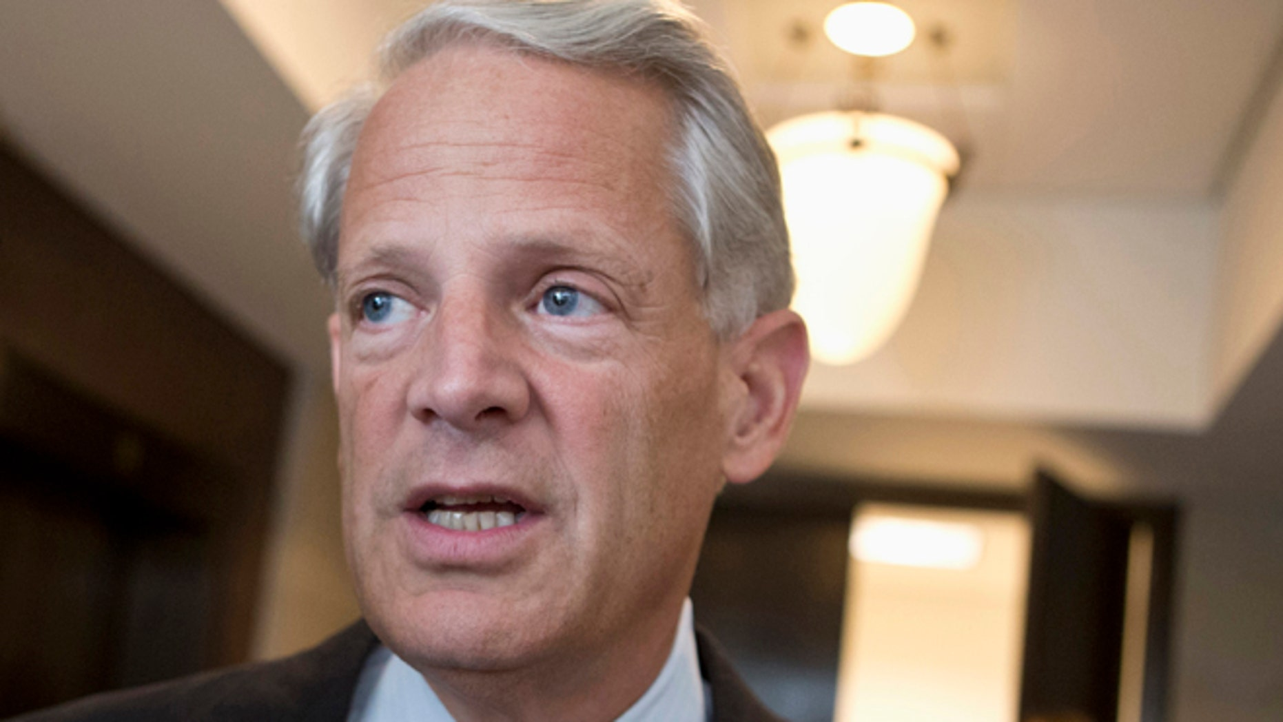 In this Sept. 3, 2013 file photo, Rep. Steve Israel, D-N.Y. is seen on Capitol Hill in Washington.