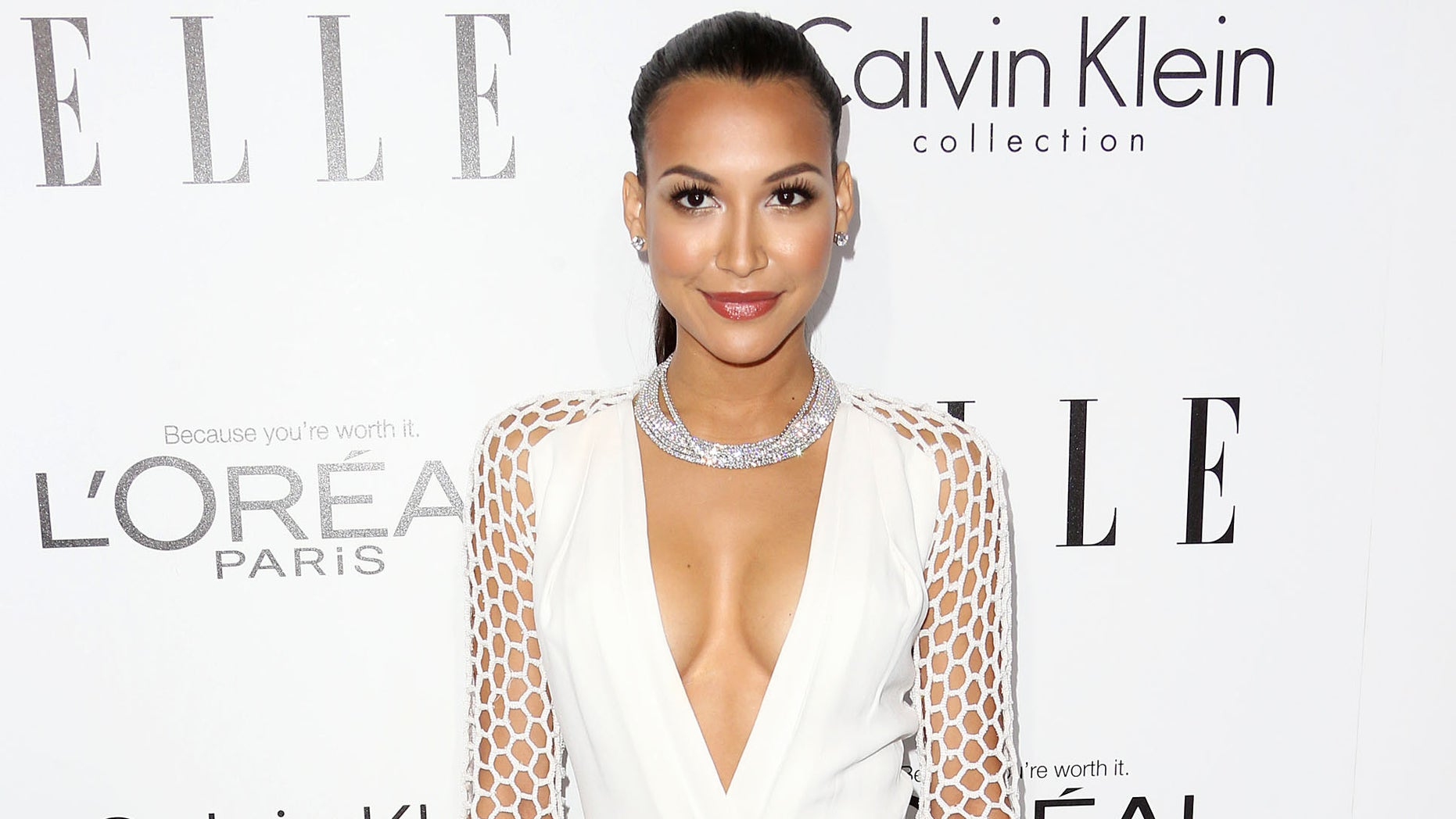 BEVERLY HILLS, CA - OCTOBER 21:  Actress Naya Rivera attends ELLE's 20th Annual Women in Hollywood Celebration at the Four Seasons Hotel Los Angeles at Beverly Hills on October 21, 2013 in Beverly Hills, California.  (Photo by Frederick M. Brown/Getty Images)