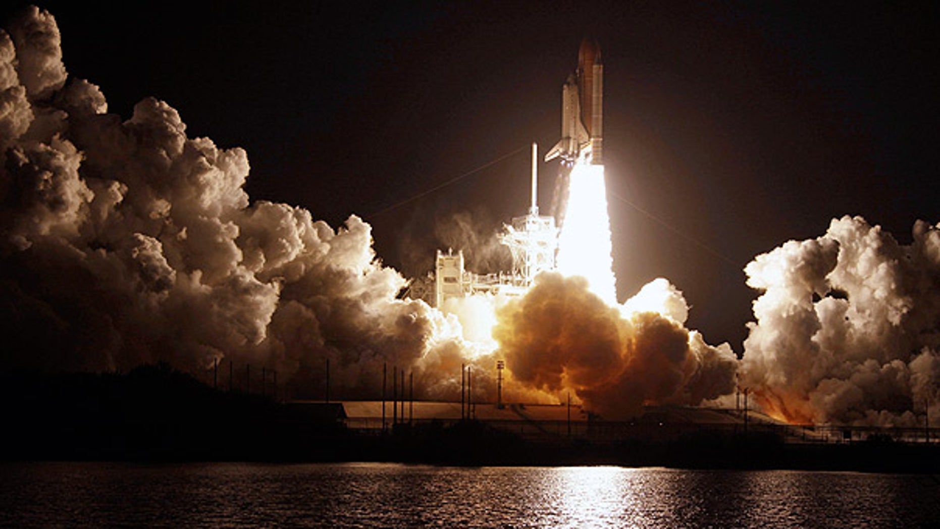 Feb. 8, 2010: Space Shuttle Endeavour lifts-off from the Kennedy Space Center at Cape Canaveral, Fla.