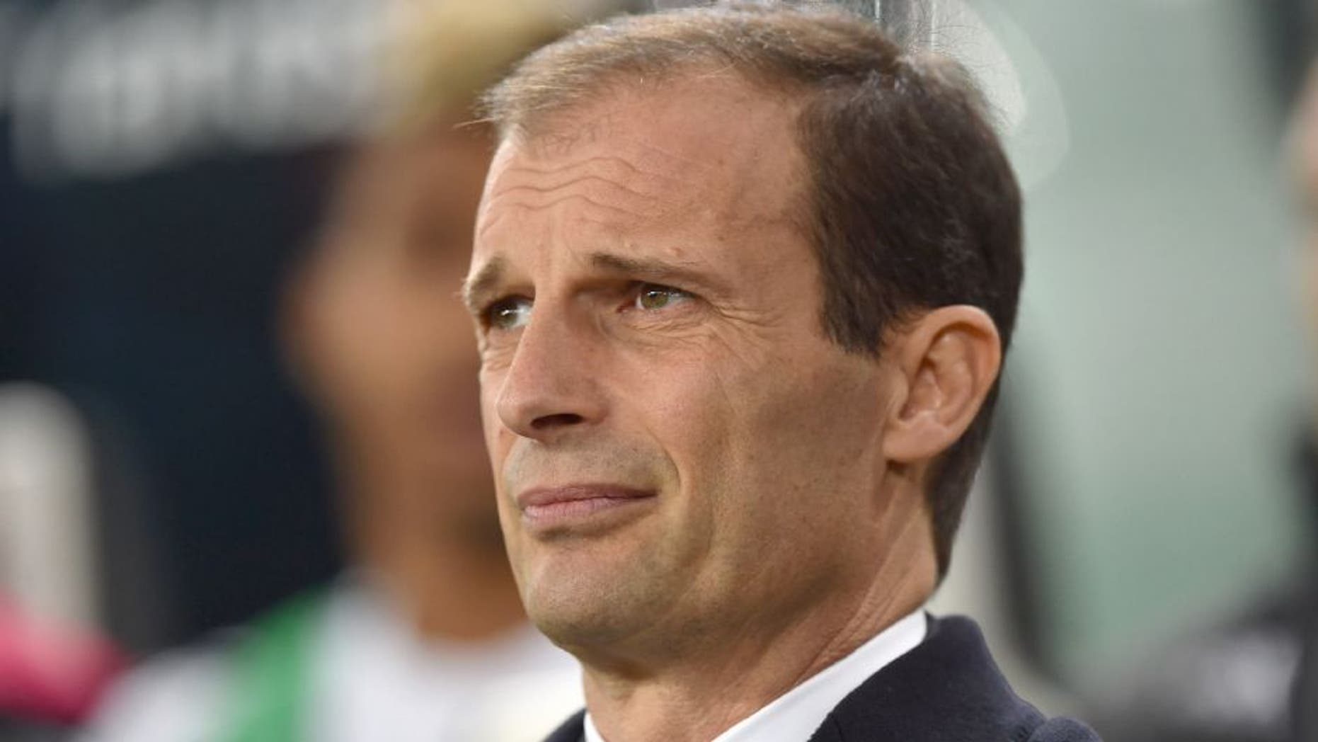 TURIN, ITALY - FEBRUARY 03: Juventus FC head coach Massimiliano Allegri looks on during the Serie A match between Juventus FC and Genoa CFC at Juventus Arena on February 3, 2016 in Turin, Italy. (Photo by Valerio Pennicino/Getty Images)