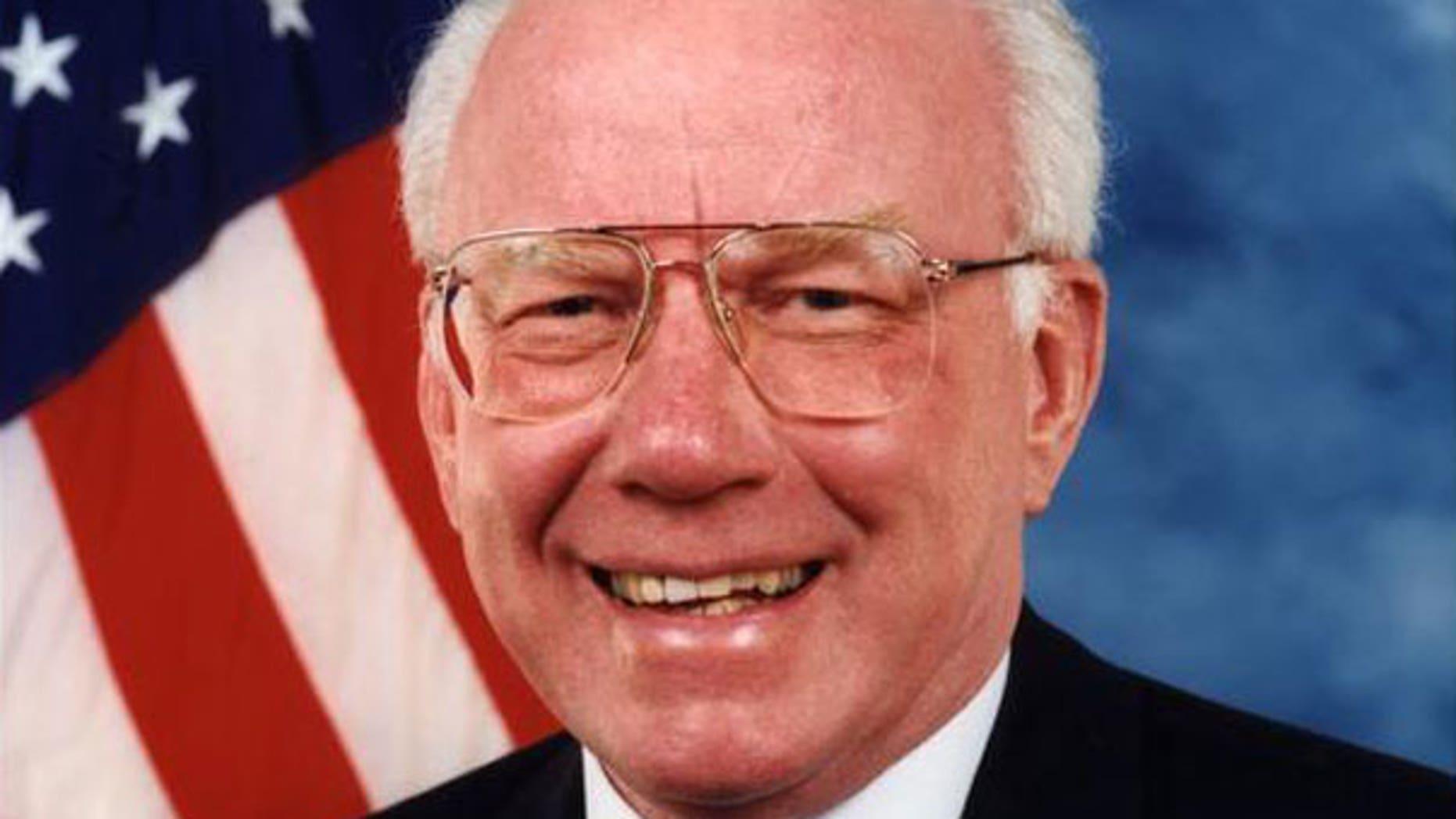 Republican Rep. Vern Ehlers of Michigan (AP).