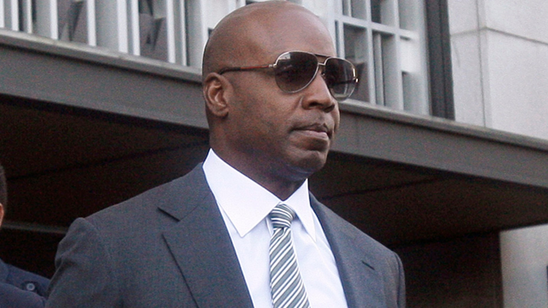 Jan. 21: Barry Bonds walks out of a federal courthouse in San Francisco.