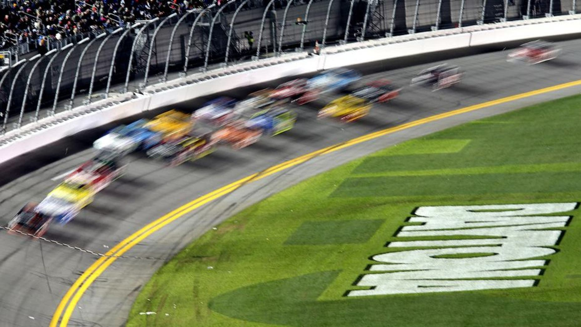 DAYTONA BEACH, FL - FEBRUARY 13: A general view of action during the NASCAR Sprint Cup Series Sprint Unlimited at Daytona International Speedway on February 13, 2016 in Daytona Beach, Florida. (Photo by Jerry Markland/Getty Images)
