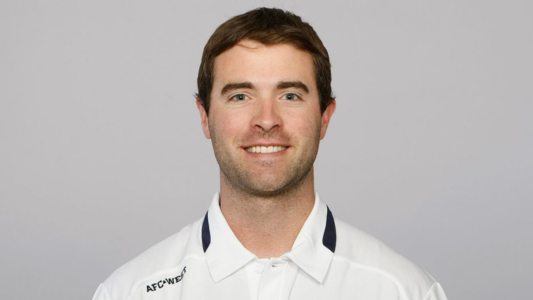 ENGLEWOOD, CO - CIRCA 2011: In this handout image provided by the NFL, Brian Callahan of the Denver Broncos poses for his NFL headshot circa 2011 in Englewood, Colorado. (Photo by NFL via Getty Images)